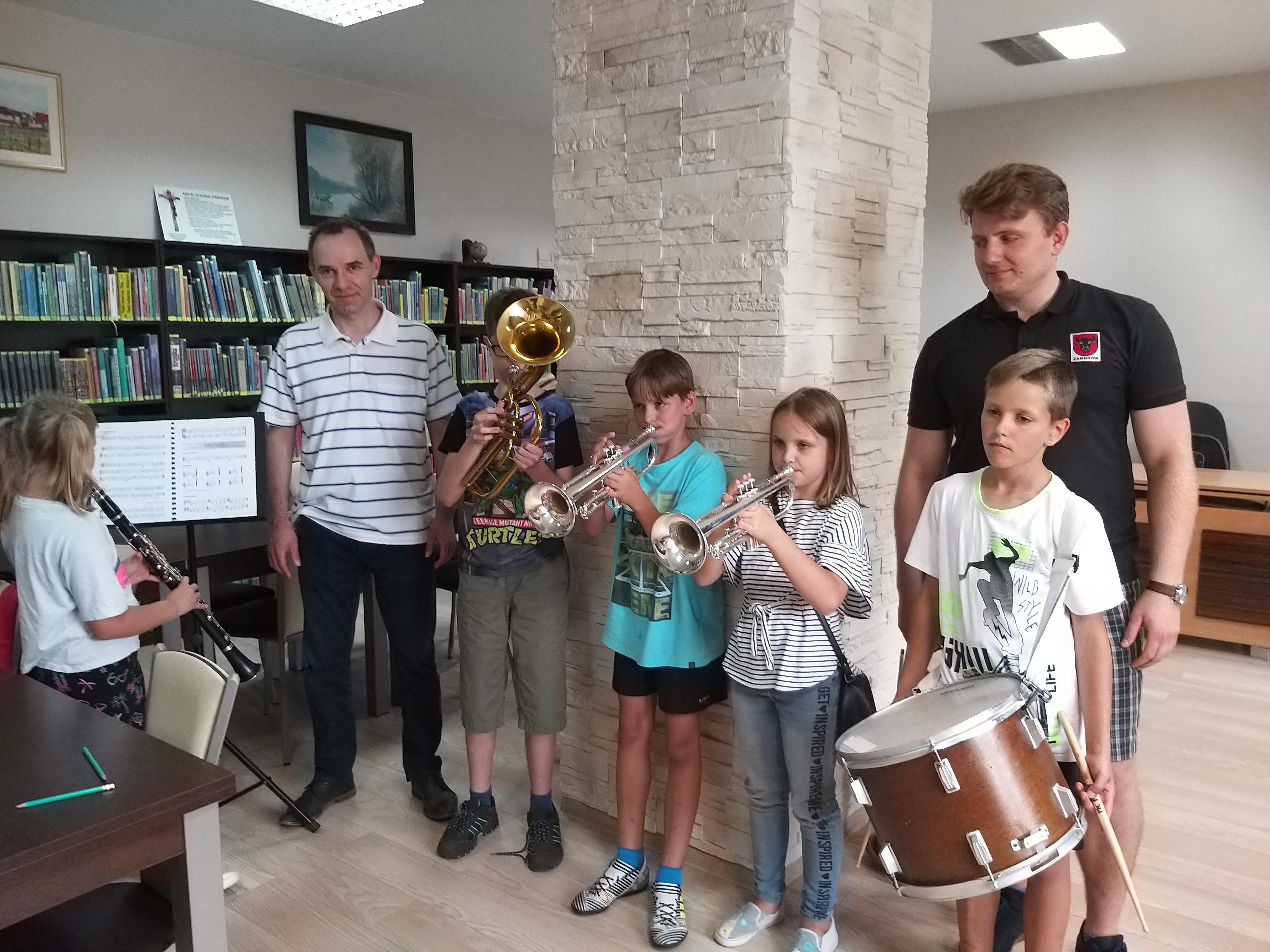 I wszystko Gra – edukacja orkiestrowa w Gminie Łomża