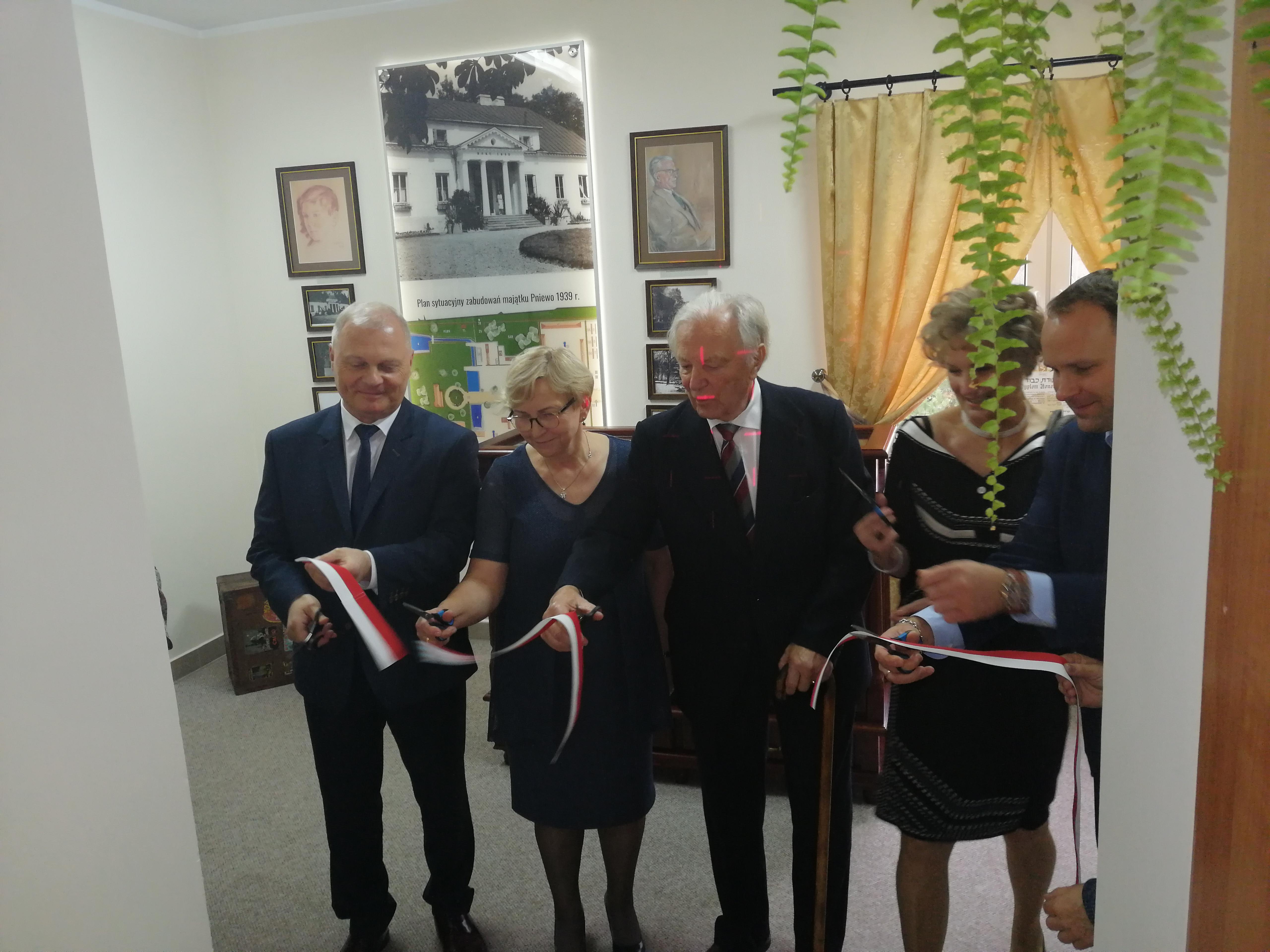 Sala Pamięci Rodziny Jabłońskich w Pniewie już otwarta!