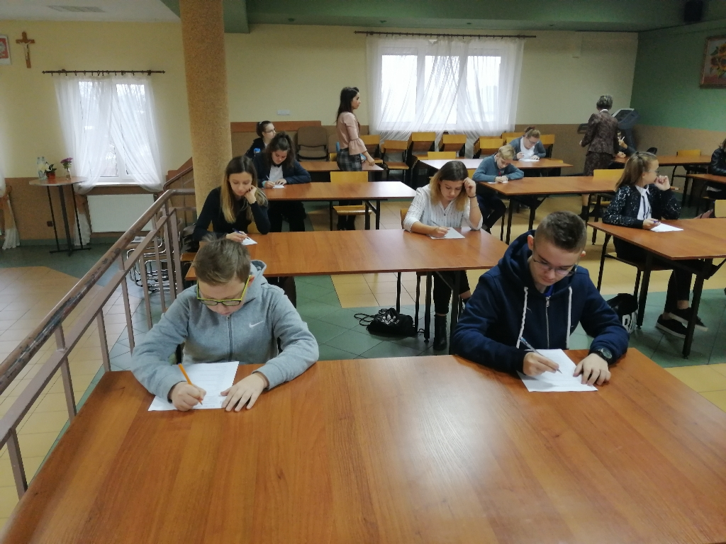 Eliminacje gminne konkursu czytelniczego 4.12.2019